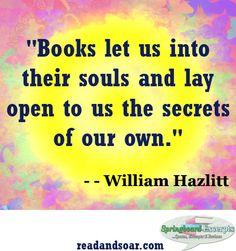 Book Quote - William Hazlitt