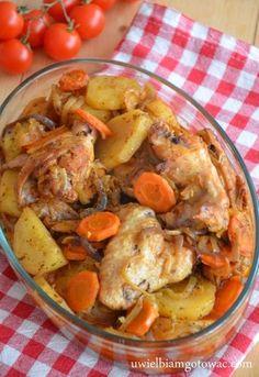 Kurczak z warzywami z worka