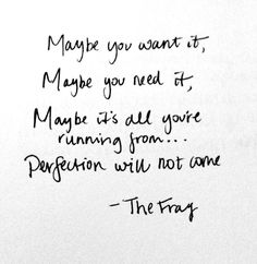 love the fray :)