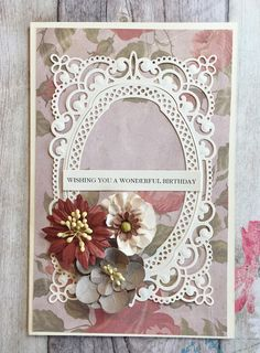 A place to find all things Spellbinders with snippets of home and the odd picture of a pup called Bella! Becca Feeken Cards, Simple Card Designs, Card Creator, Spellbinders Cards, Birthday Cards For Women, Anna Griffin Cards, Scrapbook Cards, Scrapbooking, Mothers Day Cards