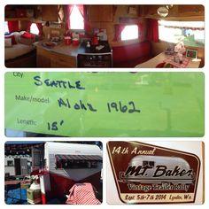 2014 Mt. Baker Rally -Aloha Vintage Trailer
