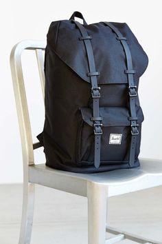 Herschel Supply Co. Little America Weather Backpack - Urban Outfitters Men's Backpack, Hiking Backpack, Black Backpack, Hipster Rucksack, Male Fashion Advice, Herschel Rucksack, Gift Guide For Men, Herschel Supply Co, Shopping