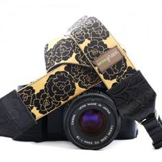 Beautiful Goldie Camera Strap