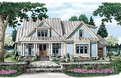 Ansonborough - Home Plans and House Plans by Frank Betz Associates