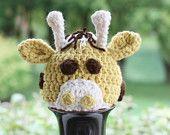 Crochet PATTERN - Giraffe Hat