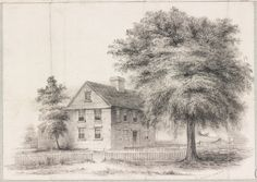 Boston, Massachusetts. House in Roxbury in which Gen. Joseph Warren was born. As it was in 1840