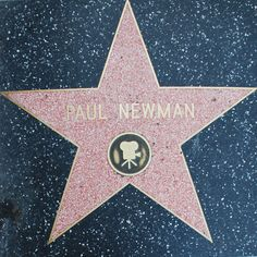 Paul Newman Star on Hollywood Walk of Fame