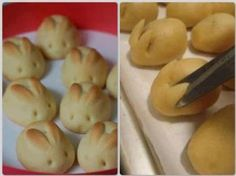 So cute! Use any regular roll and snip after roll is done rising. Bake per directions on package.