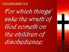 0514 colossians 36 the wrath of god is coming powerpoint church sermon Slide05 http://www.slideteam.net/