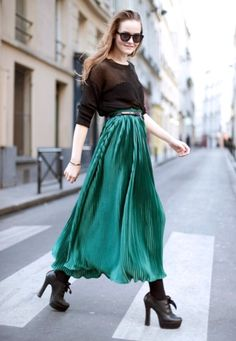 La folie des jupes: inspiration by Les Cachotières /