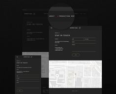 Distrito Films Website on Behance