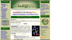 The Biology Project Biology Projects, Cell Biology, University Of Arizona, Biochemistry, Learning Activities, The Expanse, Lesson Plans, High School, College