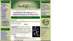 The Biology Project es un proyecto de la Universidad de Arizona donde se pueden encontrar tutoriales y selecciones de problemas para la enseñanza de la Bioquímica, Biología Celular, Biología Molecular, Inmunología, Genética y otros aspectos de la Biología.  Algunos de sus contenidos también están disponibles en castellano.