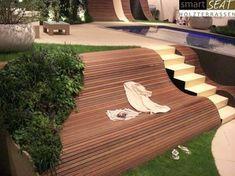 Sitzgelegenheit am Hang, Terrasse mit Hang, Bank auf Holz, Sitzmöglichkeit im Garten, Holzbank Eine Terrasse aus Holz erfüllt den Traum eines ruhigen Ortes zum Entspannen im Garten. Der Bau geht schnell und die Möglichkeiten bei der Gestaltung sehr vielfältig. Verschiedene Holzarten eigenen sich für eineTerrasse und auch die Beleuchtung einer Holzterrasse ist sehr flexibel. Hier findest Du weitere Ideen und Infos zum Bau und den passenden Handwerker: https://www.my-hammer.de/
