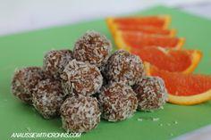 Orange Bliss Balls (Paleo & SCD)