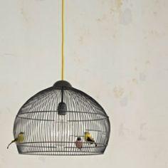 Birdcage lamp!
