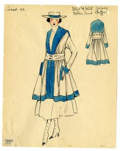 1917 Chanel Ensemble from Material Mode.