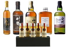 Whisky's Big In Japan - It would cost you over $381, if you had to buy the spirits and taste them from normal bottles. For $51.99 you receive 5 small 45ml bottles.