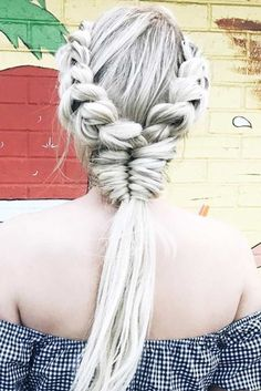 Stylish Braided Ponytails picture 1