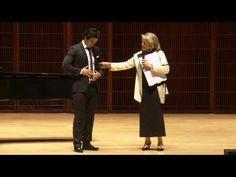 Shepherd School of Music Master Class with Renee Fleming - Rafael Moras,...