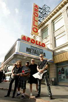 Metallica @ Apollo Theater in Harlem, New York #Metallica #Metal