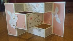 CTMH Charlotte paper pack and Springtime Wishes stamp set.
