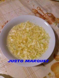 La cocina de Justo Máquez /: Ensalada de col (repollo)