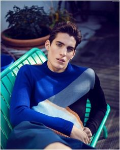 Pic de Nore Delivers Charming Knitwear Styles for Fall/Winter 2015 Mens Collection