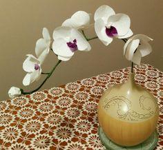 Orquidia de tecido    (Nilce Goulart)