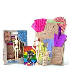 Look at this #zulilyfind! The Fashion Designer's DIY Set #zulilyfinds