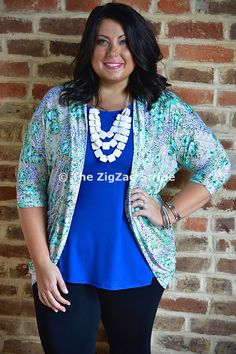 Floral & Lace Pocket Cardigan – The ZigZag Stripe. Use coupon code ZZS72 to save 10% on every order, and shipping is free! http://www.zigzagstripe.com?afmc=ZZS72