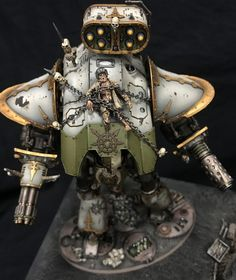 Dark Mechanicus: Best Painted ATC Runner Up - Spikey Bits