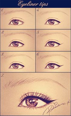 Doll Repaint Tutorial, Eyeliner, Hair Beauty, Make Up, Bobby Brown, Sketch, Nails, Diy, Makeup