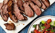 The weekend cook: Thomasina Miers' recipes for Moorish-style barbecued leg of lamb, and poached spiced apricots | Life and style | The Guardian