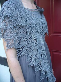 Sweet Dreams pattern by Boo Knits (I knit this beaded with a beaded picot bind-off.) by crandy
