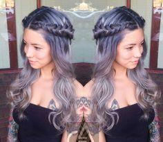 Want gray hair!