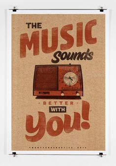 Music Sounds Better With You  Art Print 13 by twenty21onecreative.