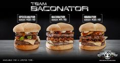 Meet the Baconator's siblings from Wendy's New Zealand: Spiceanator and BBQnator.