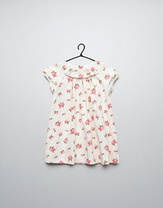 printed needle cord dress - Dresses - Baby girl (3-36 months) - Kids - ZARA Canada