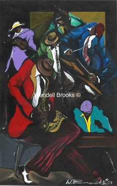 "Black Art - ""Jamming Blues"" Jazz Art, Black Art, Blues, Comic Books, Art Prints, Comics, Art Impressions, Comic Strips, Fine Art Prints"