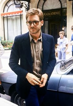 Harrison Ford in the eighties = stylish & handsome = love!