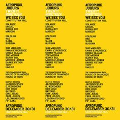 All about Afropunk Fest and all the best music festivals around the world, including news, lineups, locations and tickets! Hip Hop Festival, Festivals Around The World, Afro Punk, Music Festivals, Good Music, The Twenties, African