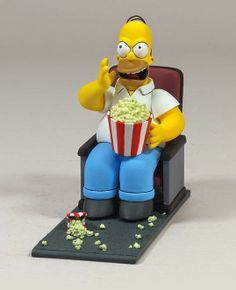 Figura Homer Simpson Butaca de Cine | Merchandising Películas