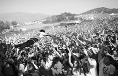 Meech of Flatbush Zombies performs at the Paid Dues Festival in San Bernardino, California on March 30th, 2013.