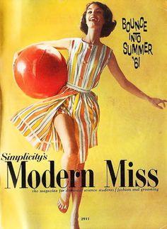 Simplicity Pattern Magazine-Summer 1961