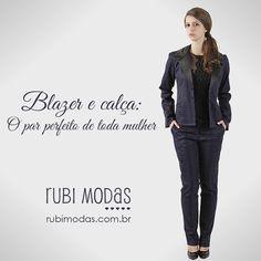 Blazer e calça: O par perfeito de toda mulher