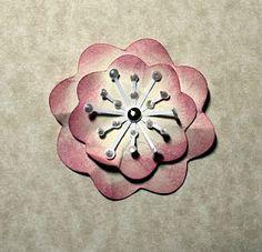 Flowers w/stamens Tutorial by Lisa Blastick