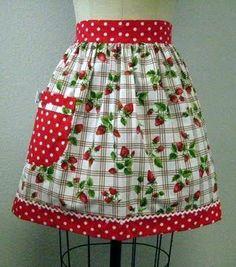 Another CRISP, Colorful picnic apron