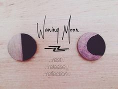 Waning Moon ~ Rest ~ Release ~ Reflect ⊰❁⊱