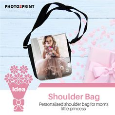 For the little prince or princess in your life. Our personalised shoulder bags can show off just how stylish your little one can be all while keeping their essentials close.  #shoulderbag #giftidea #customisedgifts #giftformom #addaphoto #personalised #perfectforgirls #perfectforboys #gifts #messengerbag